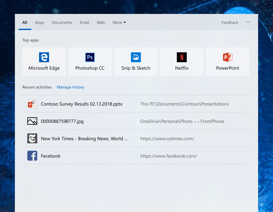 Windows 10 19h1 build 18329 is out with windows search improvements, win32 apps support in windows mixed reality - onmsft. Com - february 1, 2019