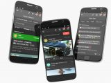 Xbox app on Android smartphone