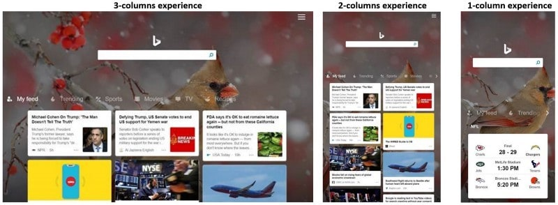 Bing rebuilds home page on amazon tablets using react/redux - onmsft. Com - march 19, 2019