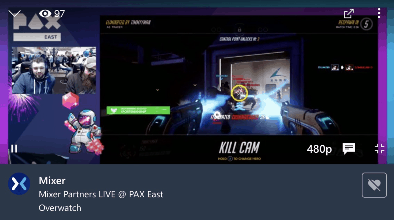Mixer gets Google Cast support and a better video player on iOS and Android OnMSFT.com March 29, 2019