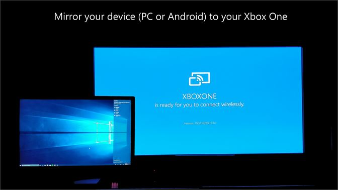 Microsoft's new wireless display app lets you cast your windows or android screen to an xbox one, and it works with pc games - onmsft. Com - march 13, 2019