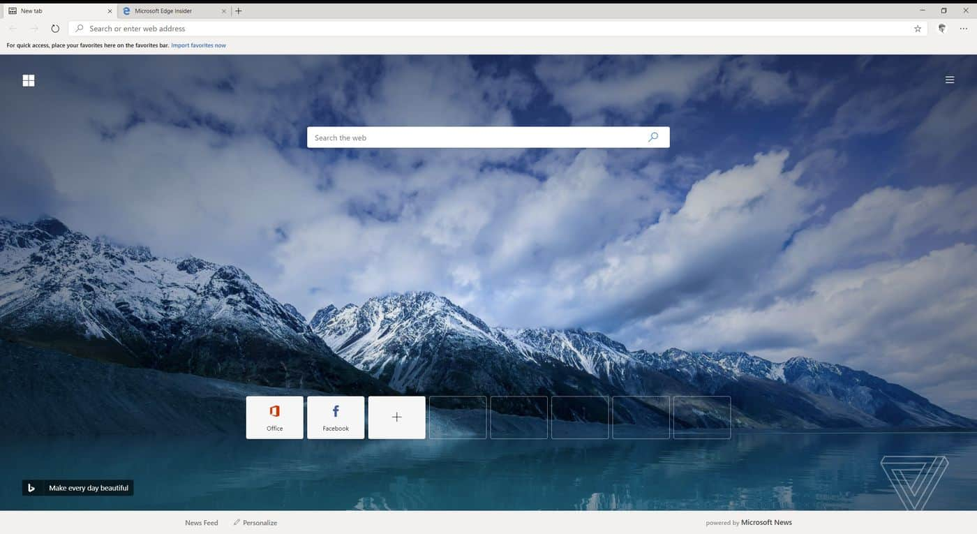 Microsoft Edge - Chromium