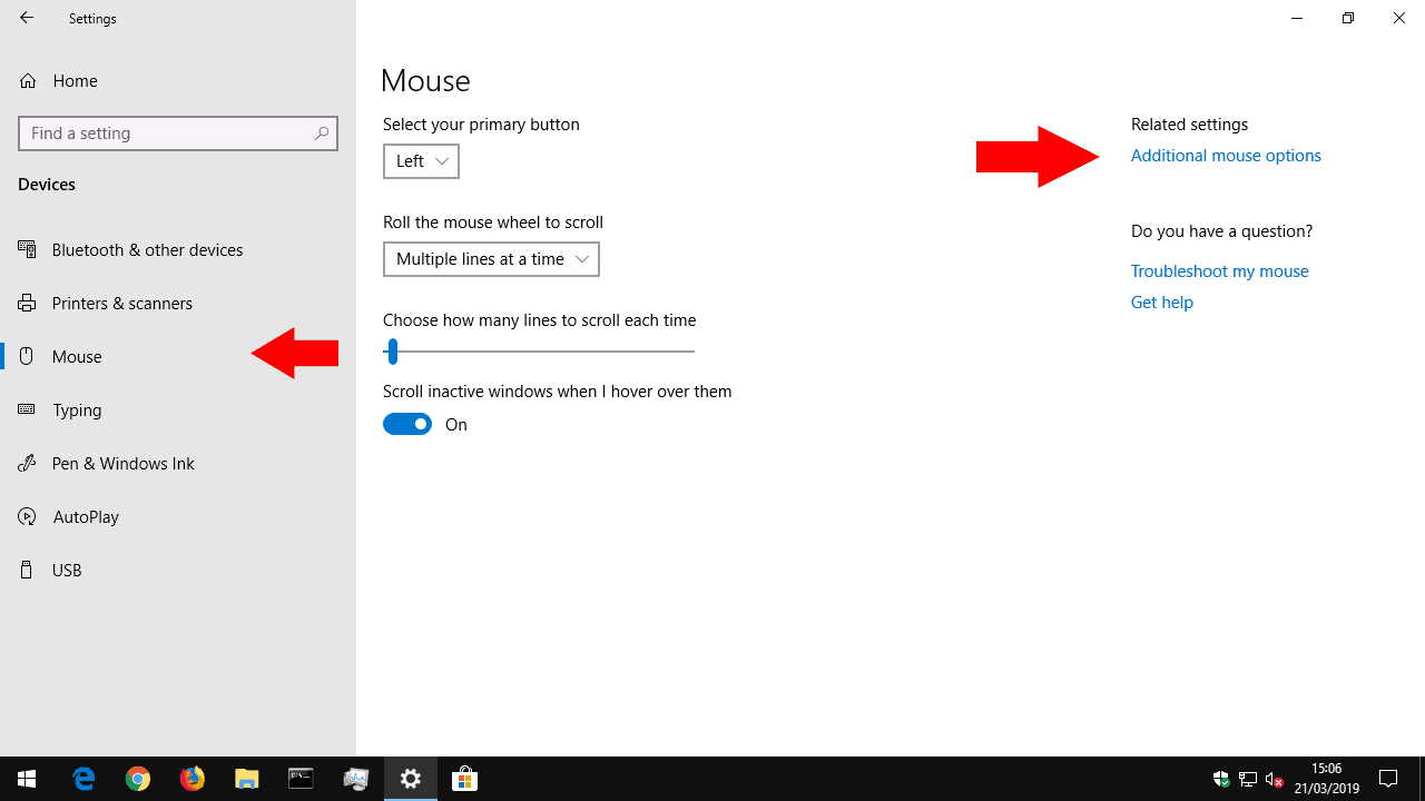 How to change mouse settings in Windows 10 » OnMSFT.com