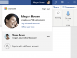 New account manager in office on windows will make it easy to switch between personal and work accounts - onmsft. Com - april 22, 2019