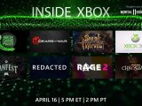 Tune in to Inside Xbox at 2PM PST to get exclusive Sea Of Thieves and RAGE 2 MixPot content OnMSFT.com April 16, 2019