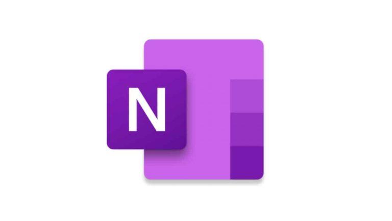 OneNote app icon.