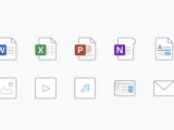 Filetype icons for office get their own redesign, now available for outlook for ios, onedrive, android coming soon - onmsft. Com - may 10, 2019