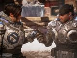 Gears 5 video game on Xbox One