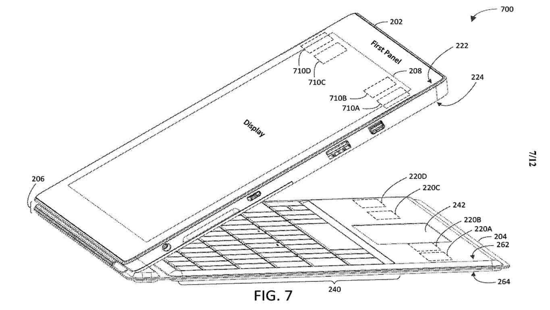 Microsoft Type Cover patent.