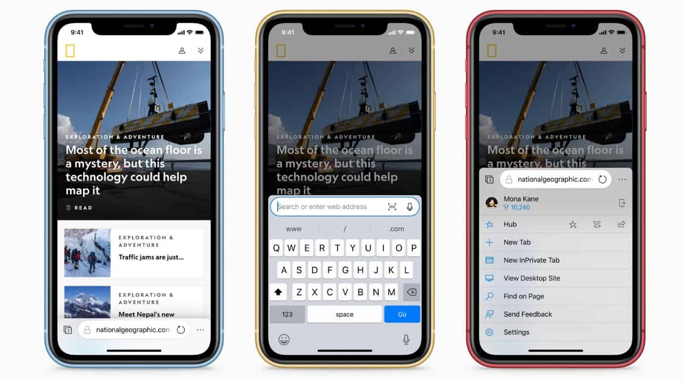 Soon to be Microsoft intern redesigns Microsoft Edge for iOS OnMSFT.com June 12, 2019