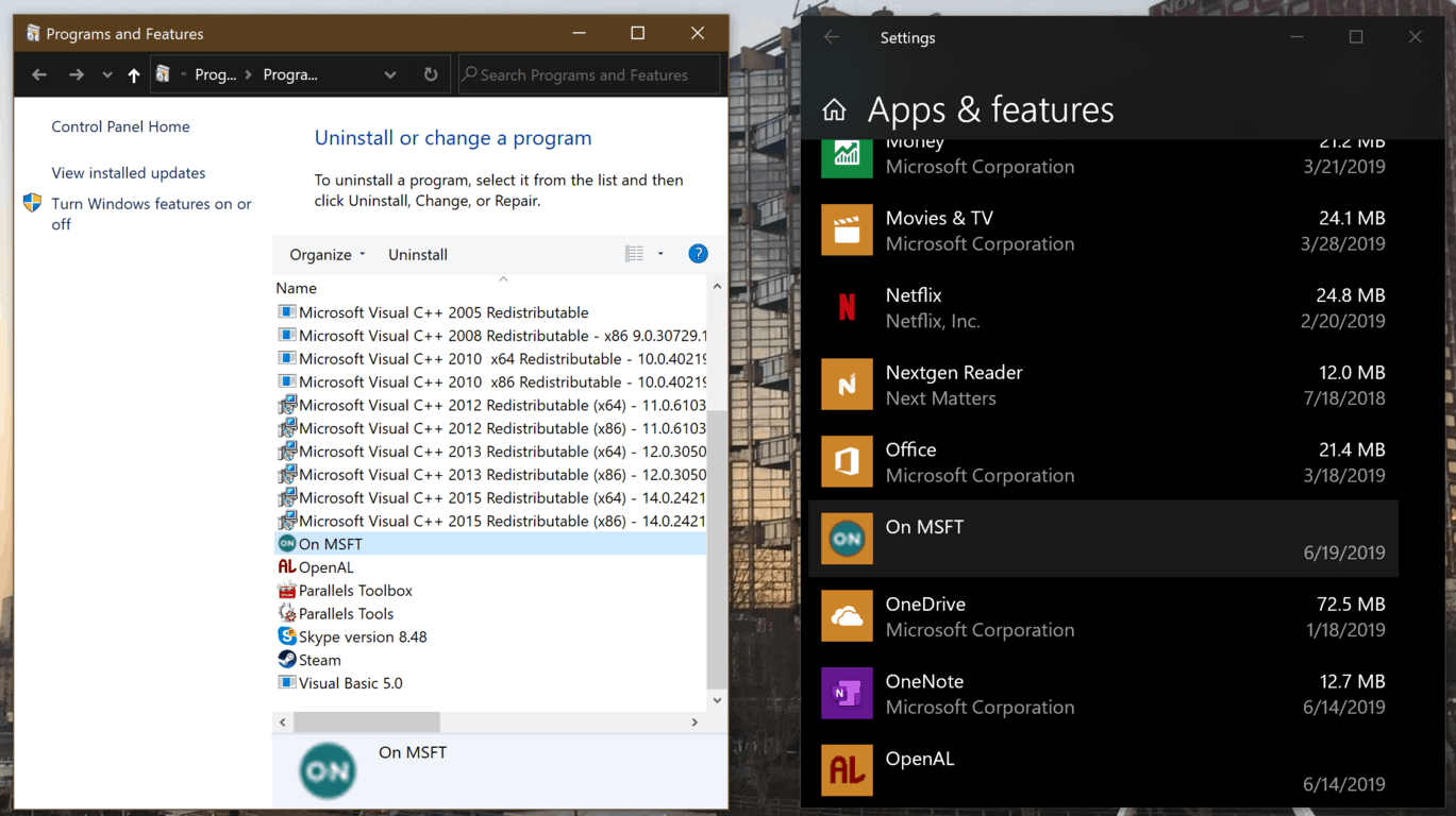 Microsoft wants to bring ability to uninstall pwas from windows 10 settings to all chromium-based browsers - onmsft. Com - june 19, 2019