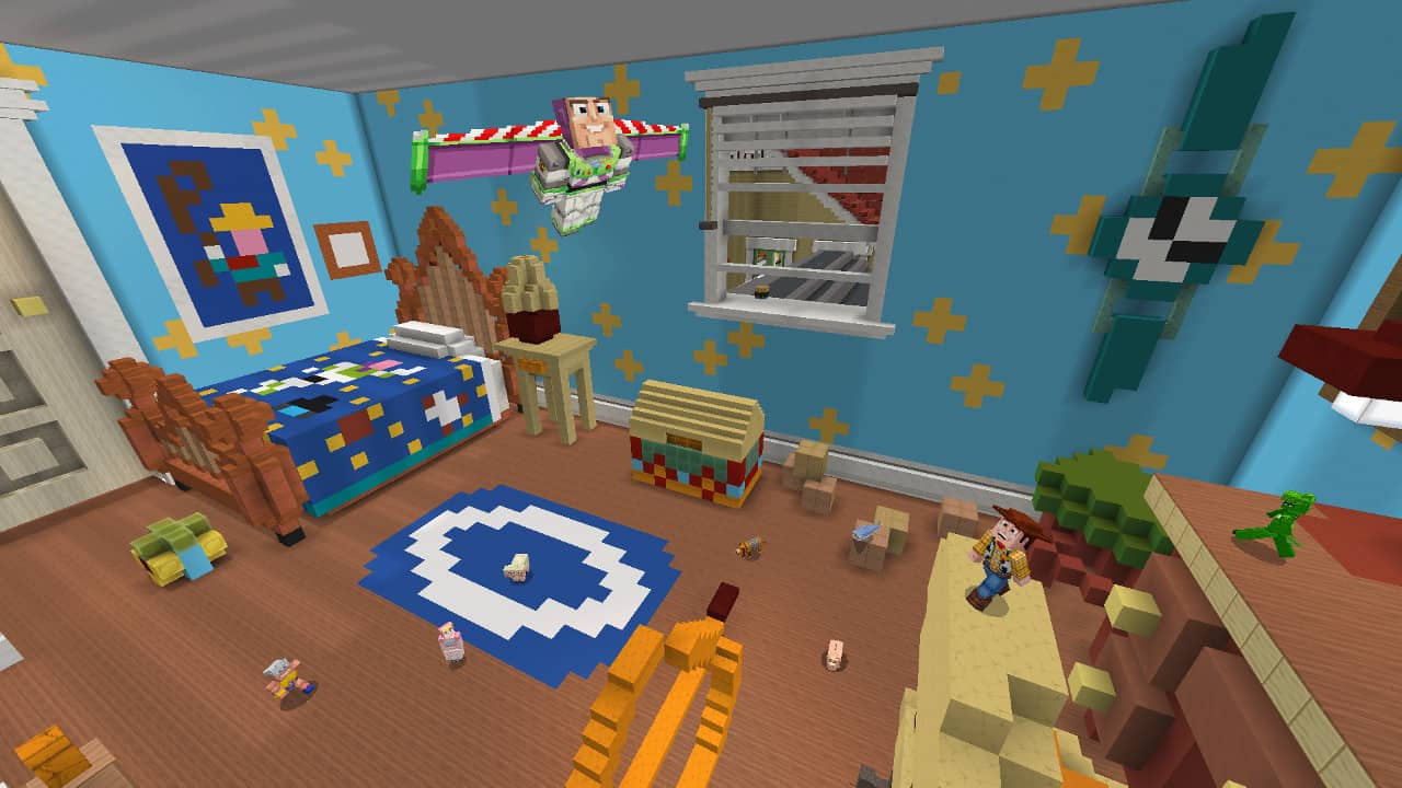 Minecraft - Toy Story mashup pack now available in the Minecraft Marketplace OnMSFT.com June 25, 2019