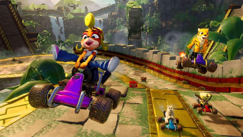 Crash Team Racing Nitro-Fueled video game on Xbox One