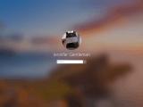 Fluent Design login screen in Windows 10