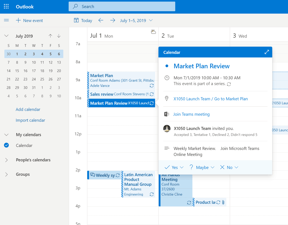 New outlook on the web is now available for office 365 customers - onmsft. Com - july 4, 2019