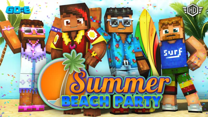 Get the minecraft summer beach party skin pack for free during the marketplace summer sale - onmsft. Com - july 4, 2019
