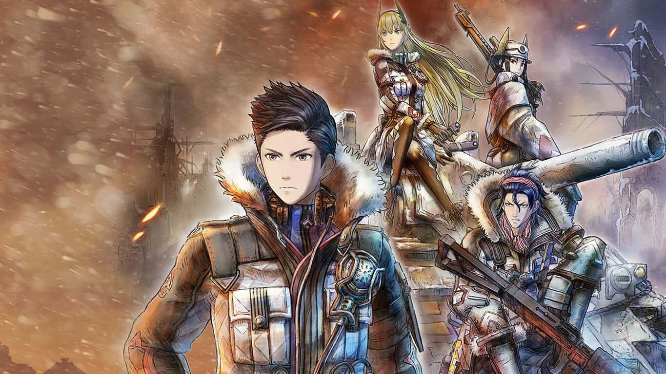 Valkyria Chronicles 4 Complete Edition video game on Xbox One