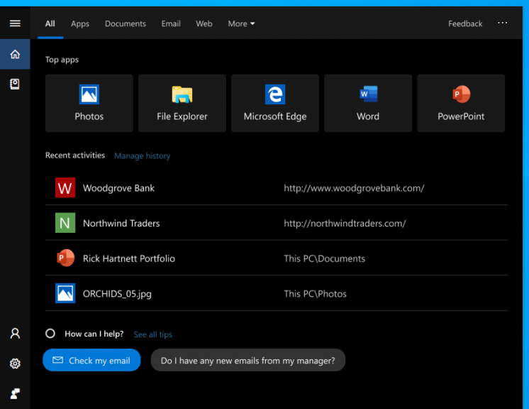 New Windows Search experience is coming to the Windows 10 October 2018 Update
