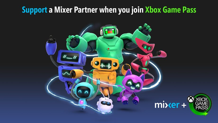 Microsoft will now let Xbox Game Pass members now directly support their favorite Mixer partners