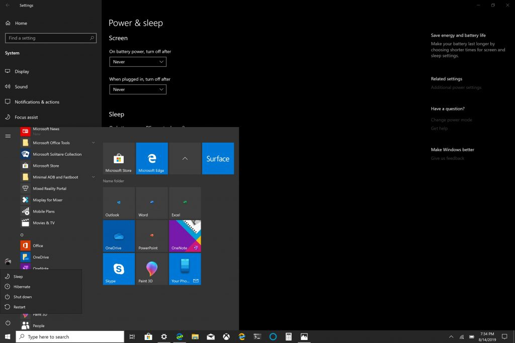 Do you (ever) turn your Windows 10 PC off?