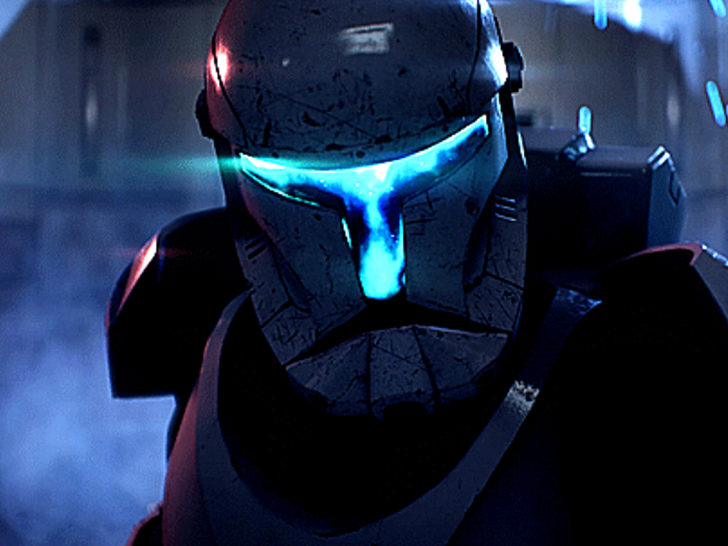 Clone Commando in Star Wars Battlefront II video game on Xbox One