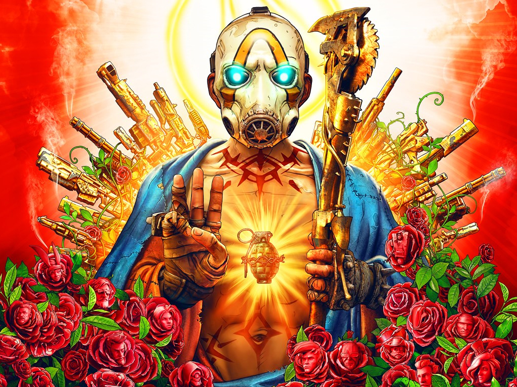 Borderlands 3 video game on xbox one