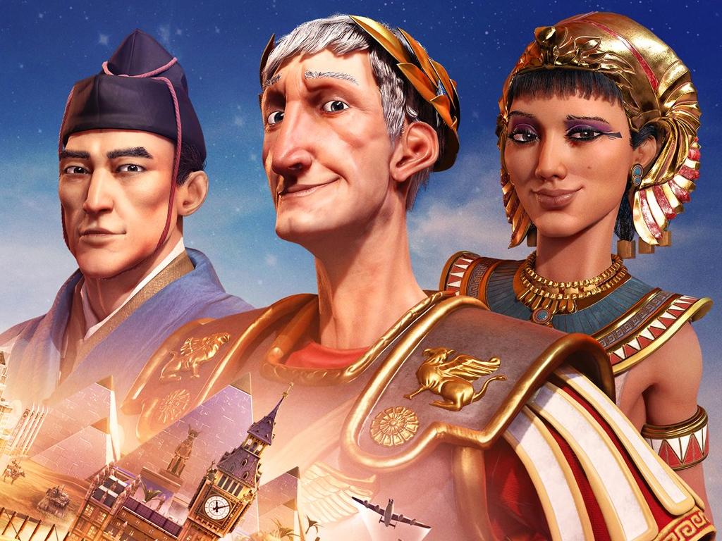 Sid Meier's Civilization VI video game on Xbox One