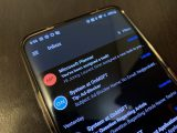 Dark mode for outlook on android: first impressions