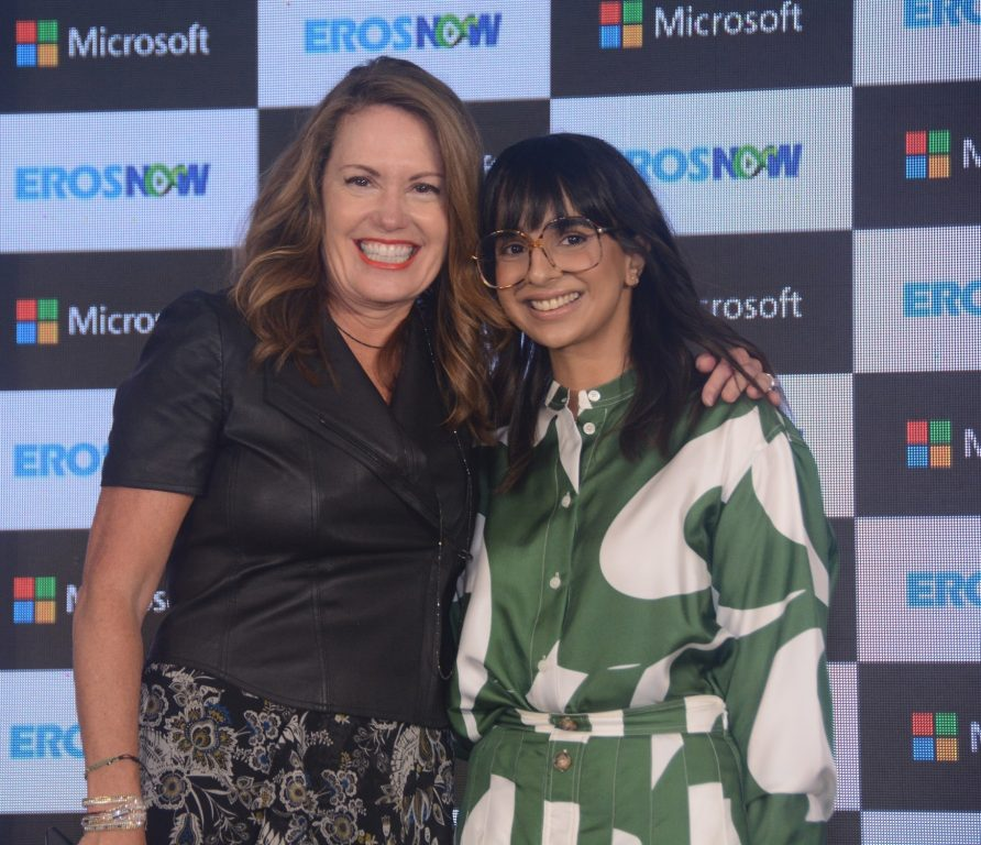 Streaming service Eros Now collaborates with Microsoft to develop next generation online video platform