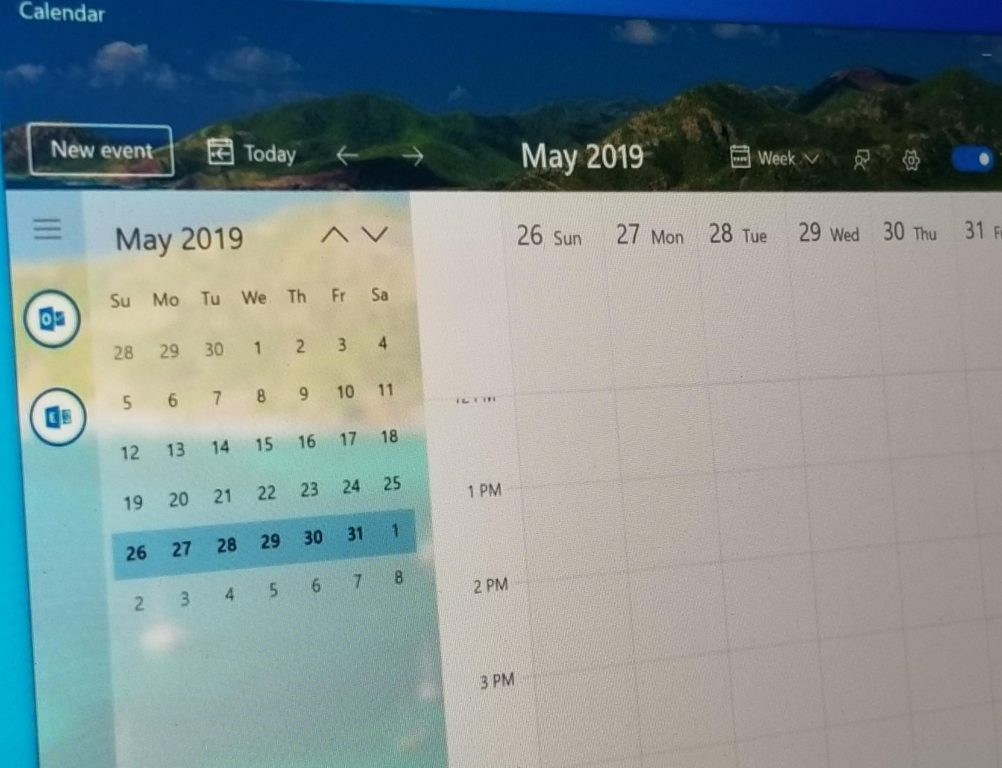 Windows 10 Calendar app to get a beautiful Fluent redesign, here's what it looks like