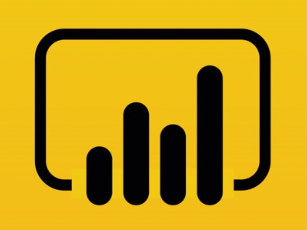 Microsoft Power BI app icon.