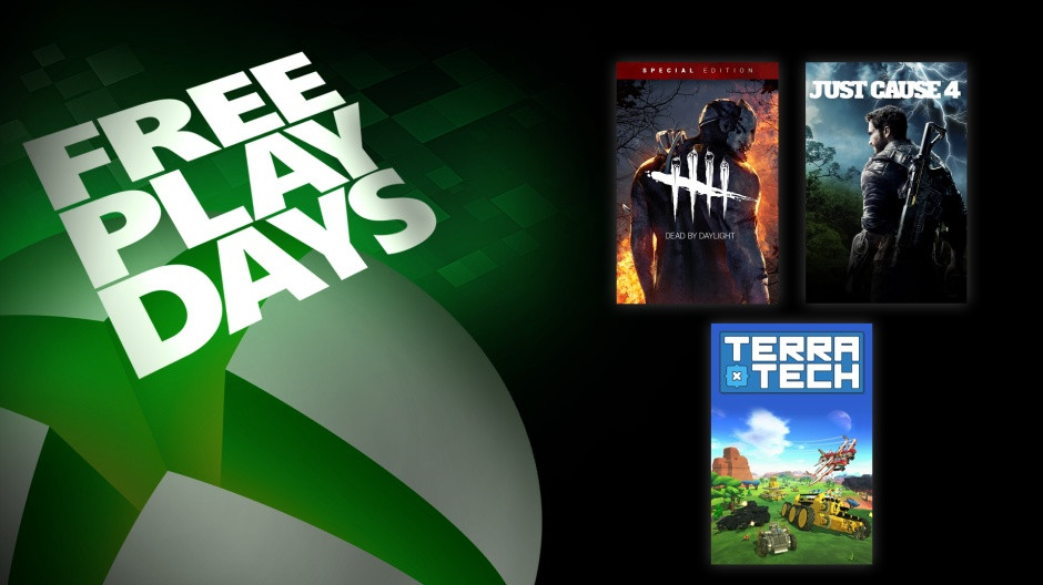 Just Cause 4, Dead by Daylight, and Terra Tech are free to play with Xbox Live Gold this weekend