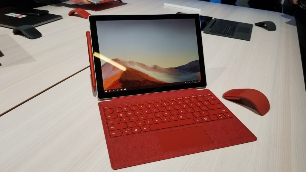 Surface Pro 7 Red