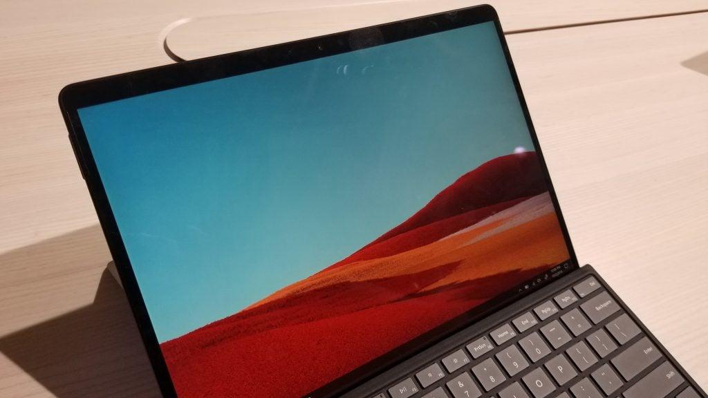 Surface Pro X