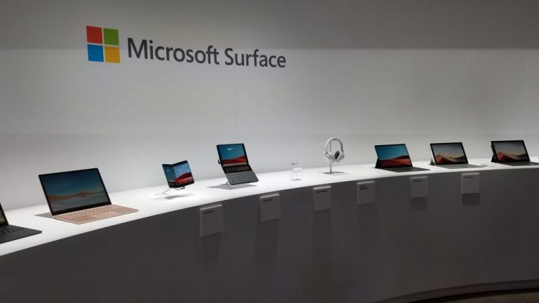 Microsoft Surface Family of Devices. Microsoft Surface 2019