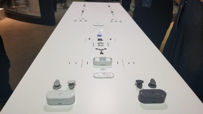 Surface earbuds first impressions: a good take on apple's airpods - onmsft. Com - october 2, 2019