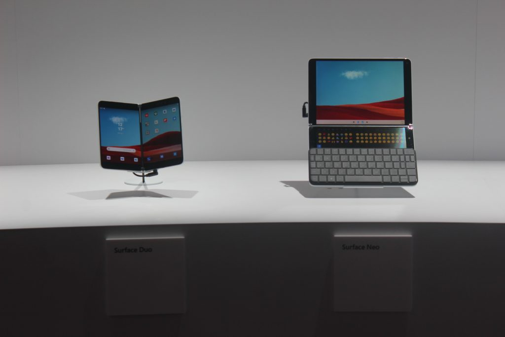 Surface Duo and Neo Family Pic