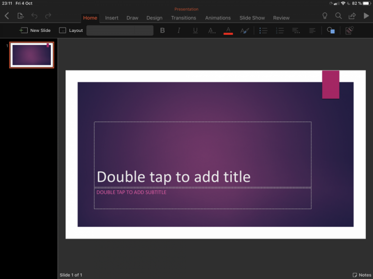 Sticky notes come to onenote for ipad, dark mode also available for beta testers - onmsft. Com - october 4, 2019