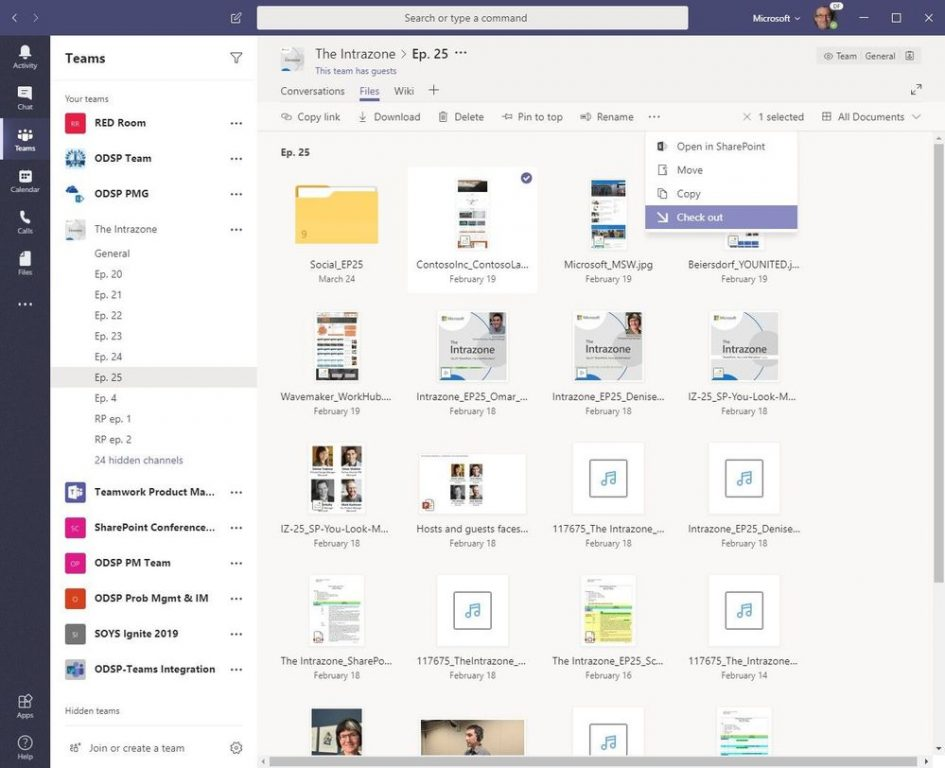 Microsoft teams is getting new file and sharing experiences - onmsft. Com - october 31, 2019