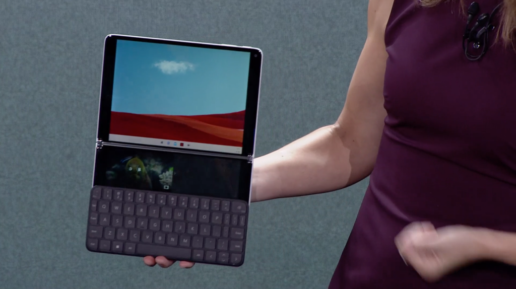 Surface neo is microsoft's new dual-screen surface, coming on holiday 2020 - onmsft. Com - october 2, 2019