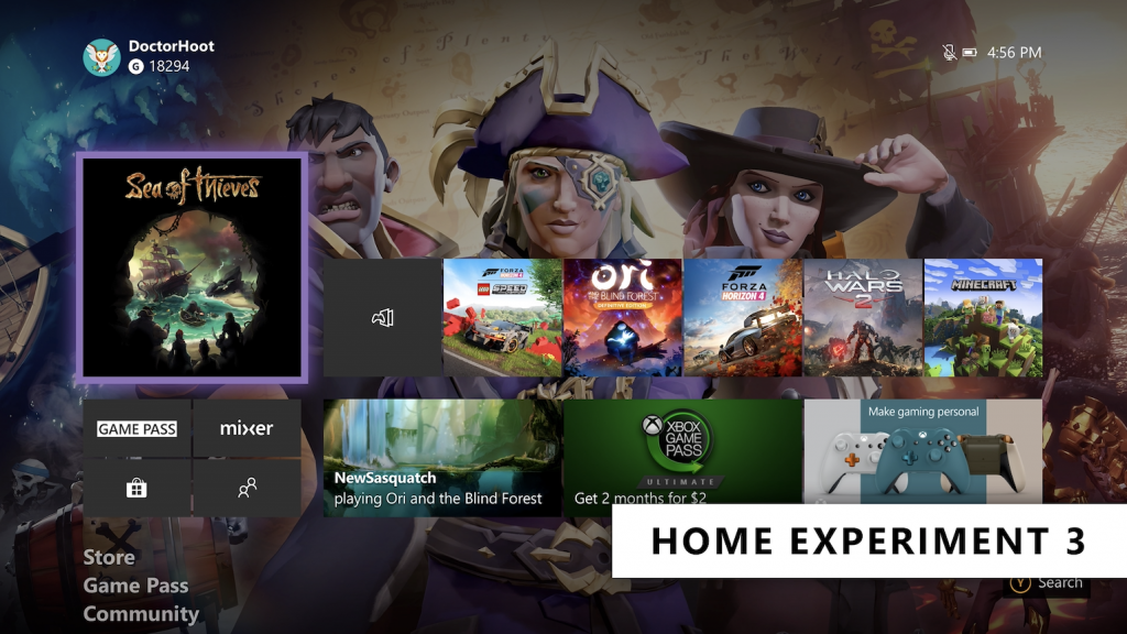 Microsoft starts testing another xbox one dashboard redesign with xbox insiders - onmsft. Com - october 17, 2019