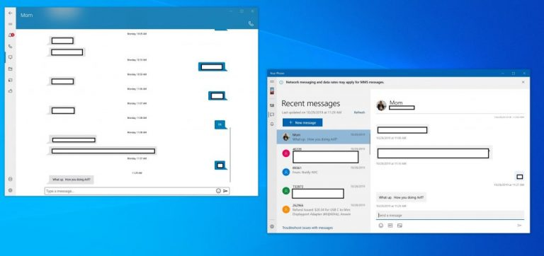 Microsoft's Your Phone vs Dell Mobile Connect: what's the best way to connect your phone to Windows 10? OnMSFT.com October 30, 2019