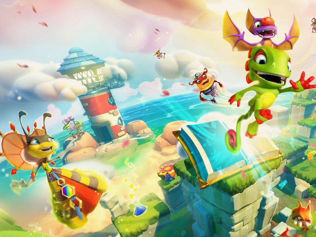 Yooka-Laylee and the Impossible Lair video game on Xbox One
