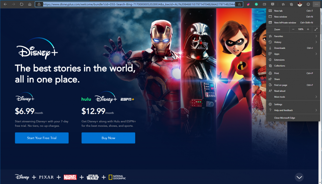 How to set up Disney+ as a PWA on Windows 10 OnMSFT.com November 12, 2019