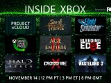 Special Inside Xbox episode live from X019 starts at noon PT (8pm London time), watch it here OnMSFT.com November 14, 2019