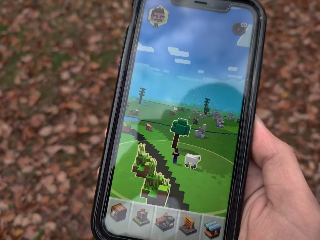 Minecraft Earth mobile video game