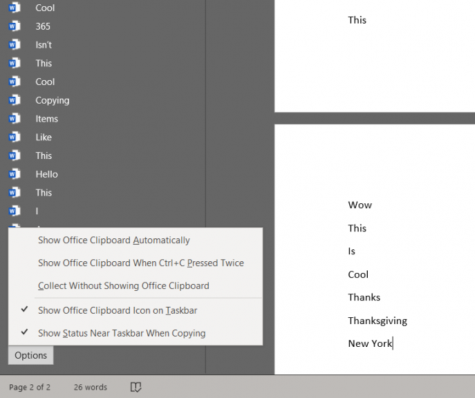 Here's how to use the Office Clipboard to make copying and pasting easy and powerful in Office 365 OnMSFT.com November 27, 2019