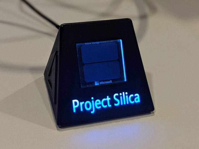 A conversation with the researcher who put a movie on a piece of glass with Project Silica OnMSFT.com November 13, 2019