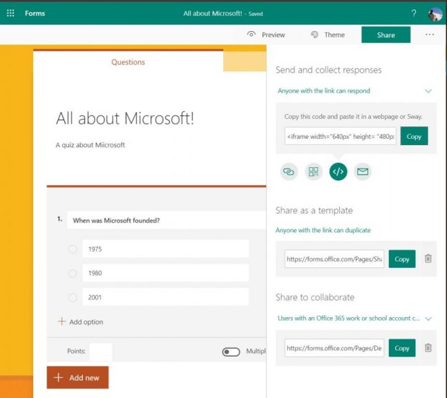Hands-on with Microsoft Forms, the Microsoft answer to Survey Monkey and Google Forms OnMSFT.com December 24, 2019
