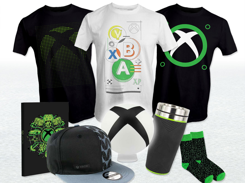 Official Xbox merch at EB Games